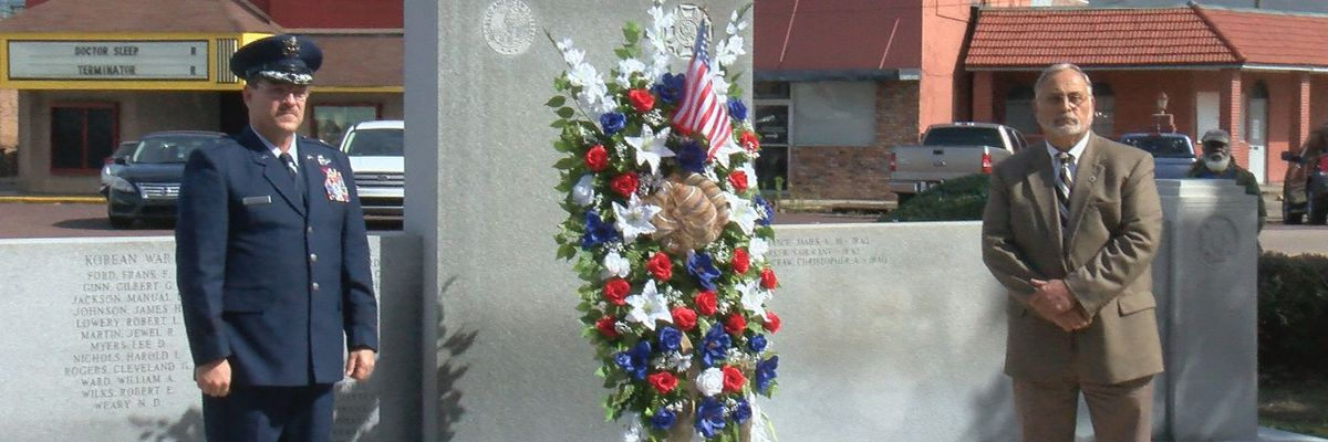 Marion County honors veterans during Monday ceremony