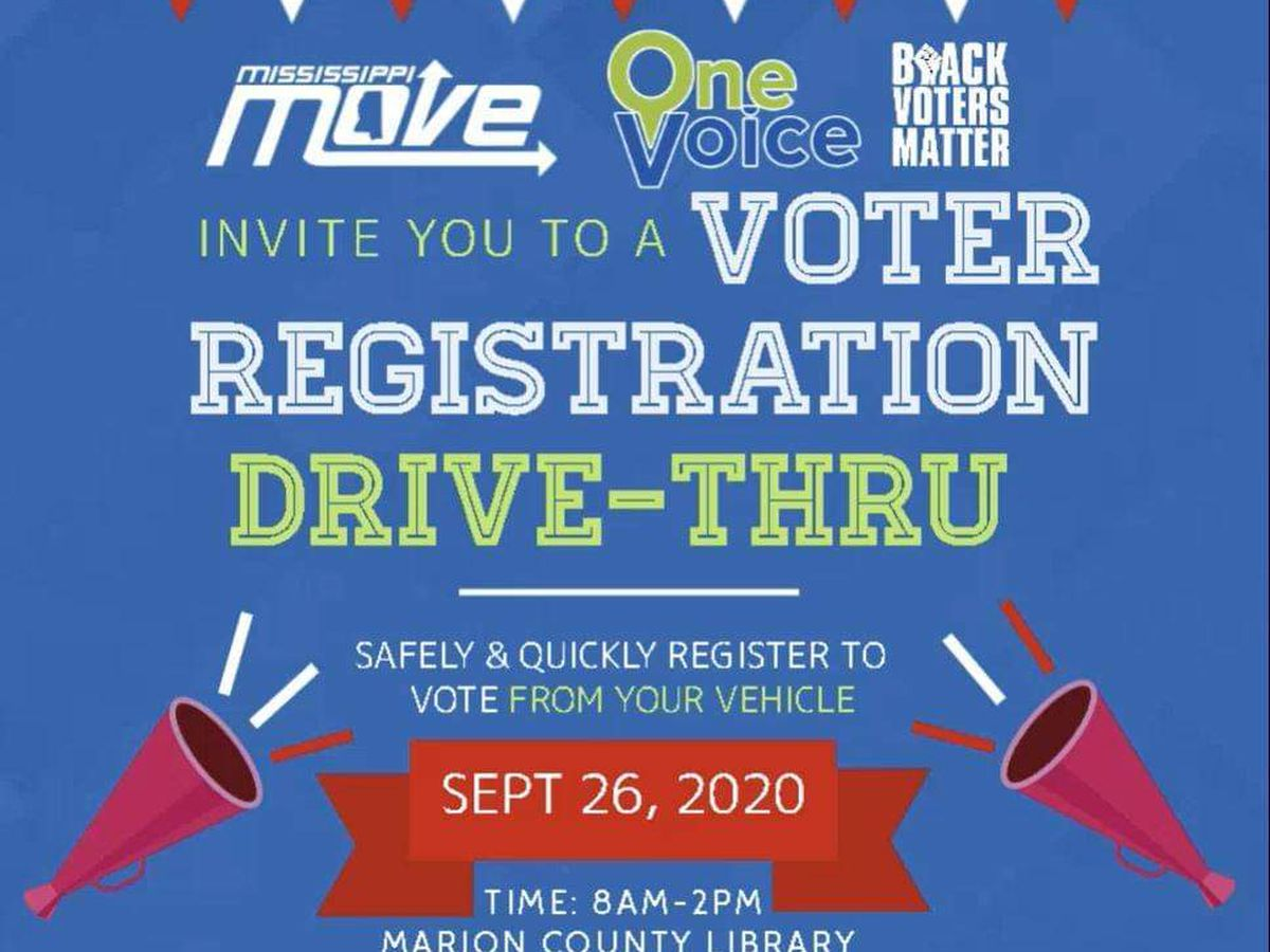PINE BELT: Register to vote!