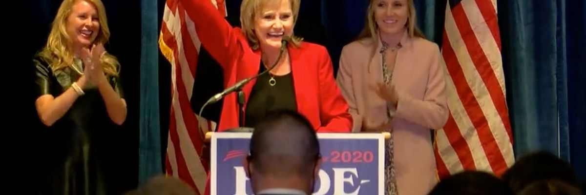 Sen. Cindy Hyde-Smith says prescription drugs on the forefront of her next term