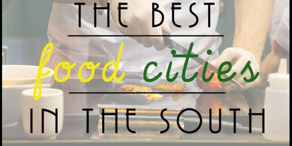 Best food cities in the South