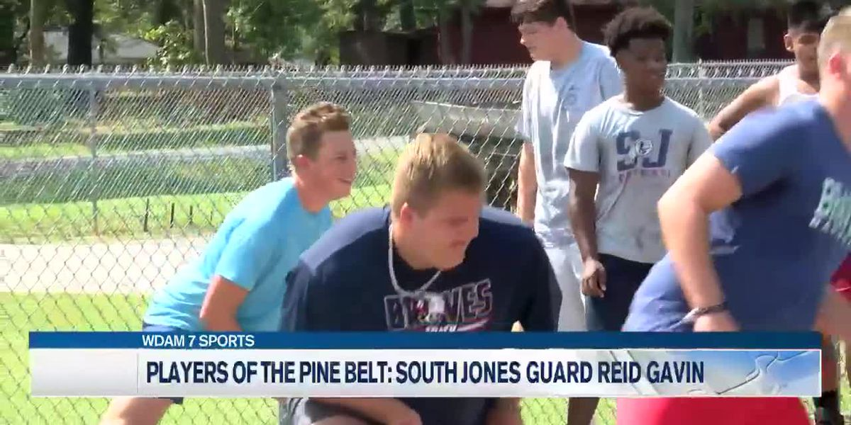 Players of the Pine Belt: South Jones' Reid Gavin expected to have big impact for Braves