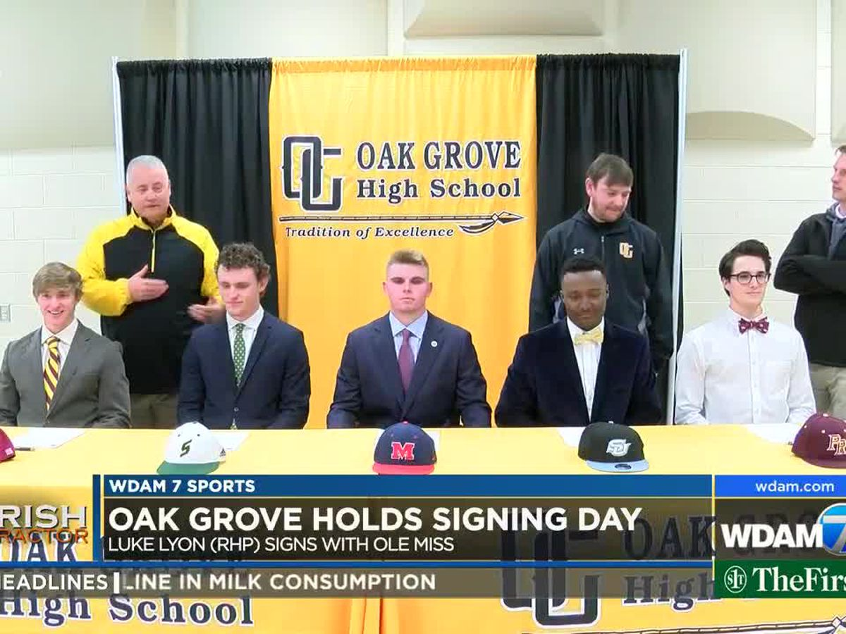 Local student-athletes sign scholarships Wednesday