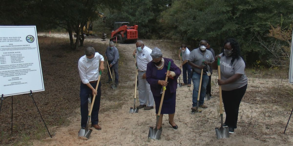 Hattiesburg breaks ground on Duncan Lake trail extension