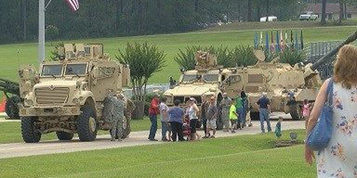 Camp Shelby hosts centennial 'Family Day'