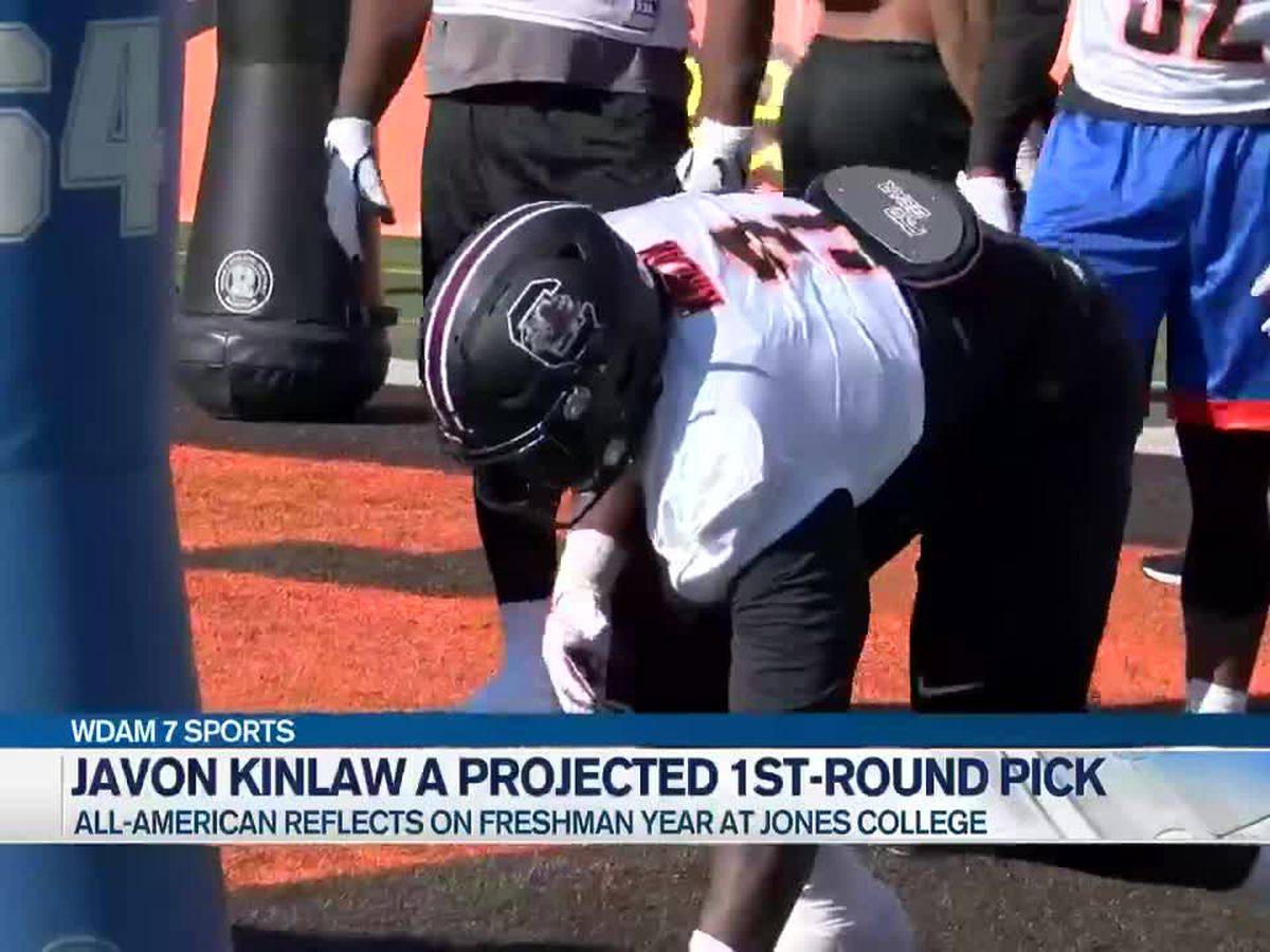 Jones College's Javon Kinlaw a projected 1st-round NFL draft pick