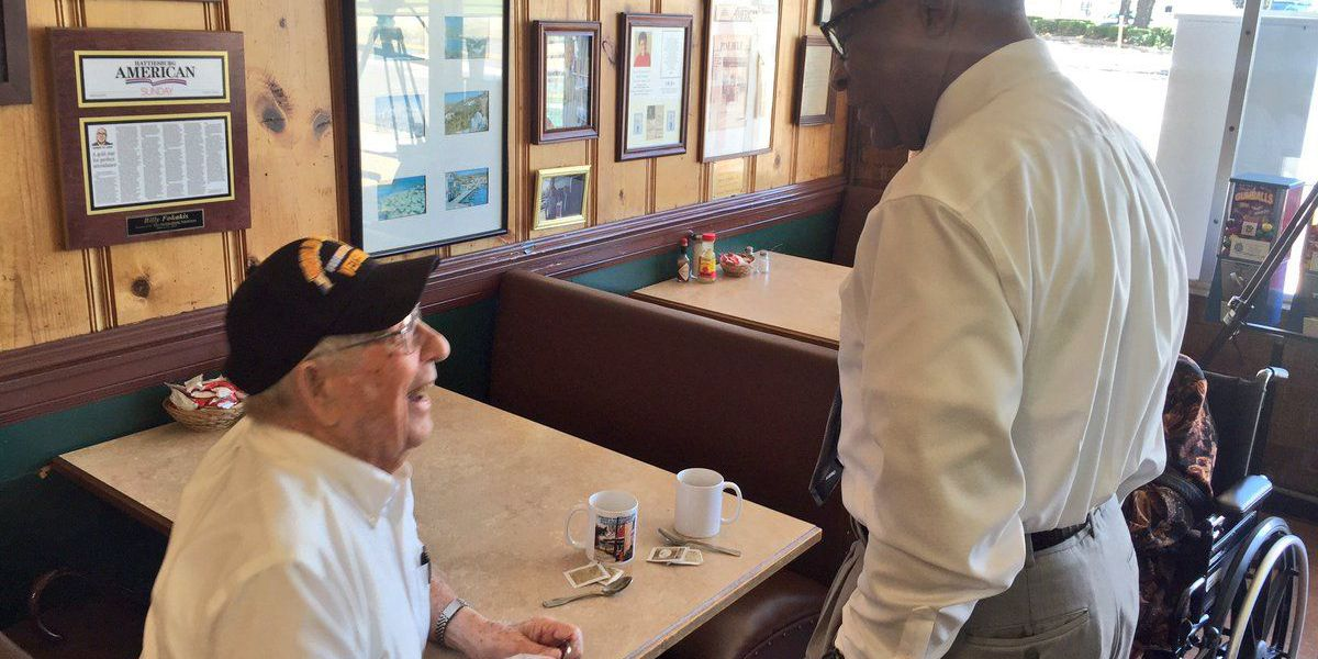 WWII vet visits Hattiesburg restaurant 75 years after working there