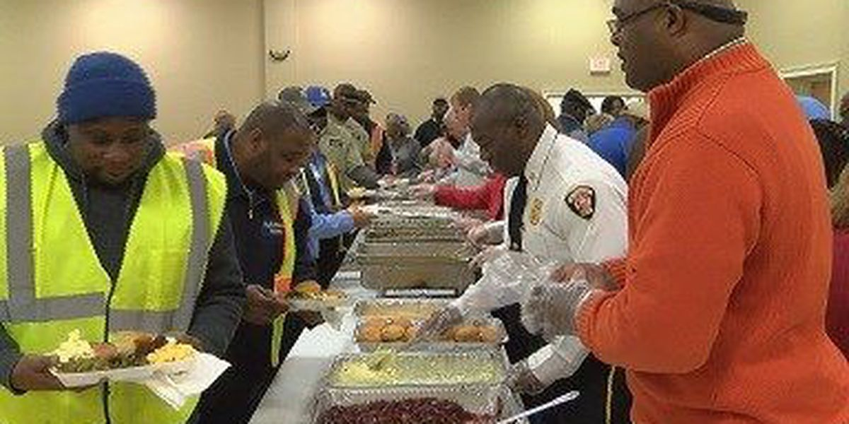 City employees celebrate Christmas during annual luncheon