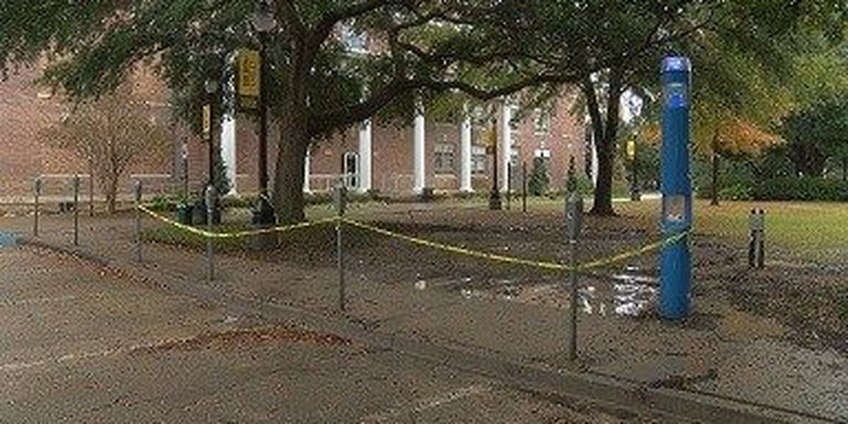 Service restored to parts of USM campus after breaks in old water lines
