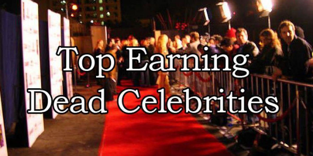 SLIDESHOW: Top earning dead celebrities
