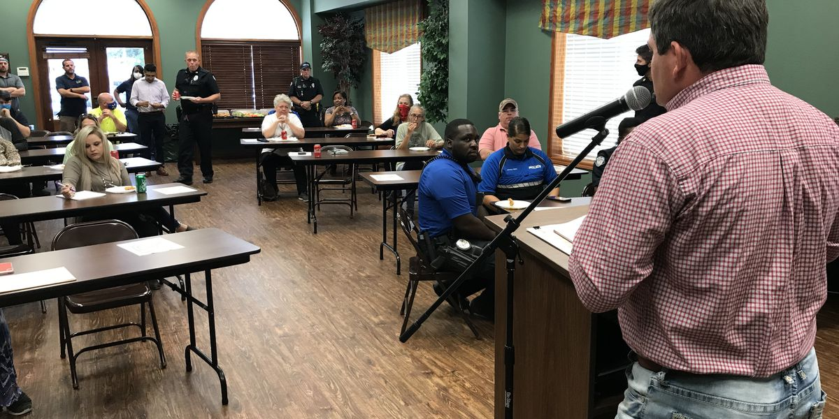 Columbia city officials host safety meeting for upcoming Experience Christmas events