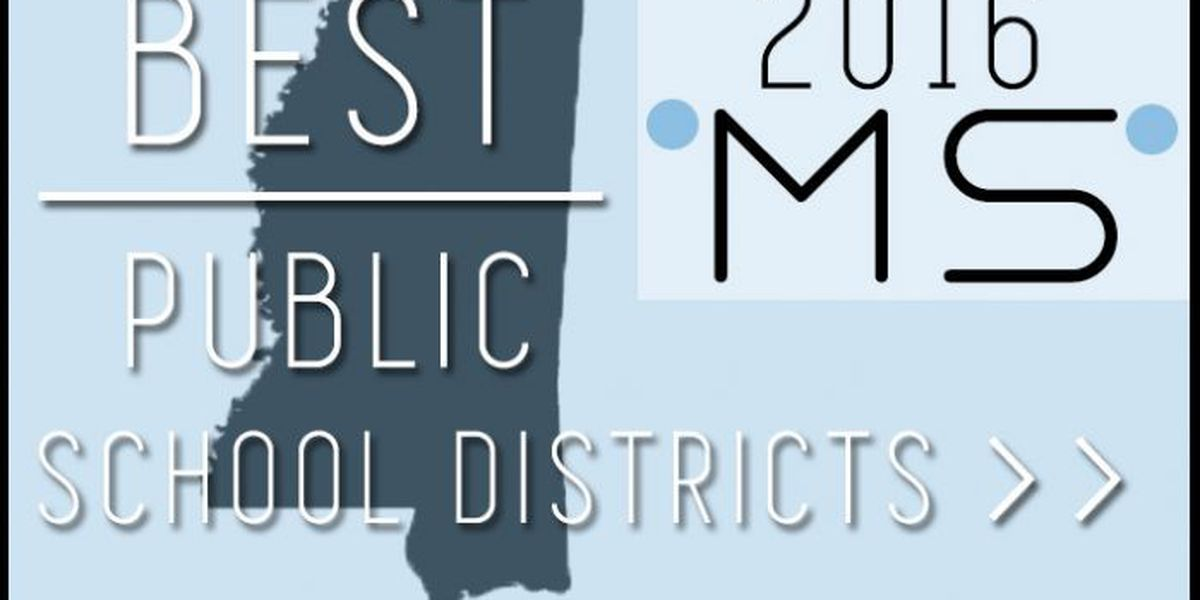 Best public school districts in Mississippi 2016