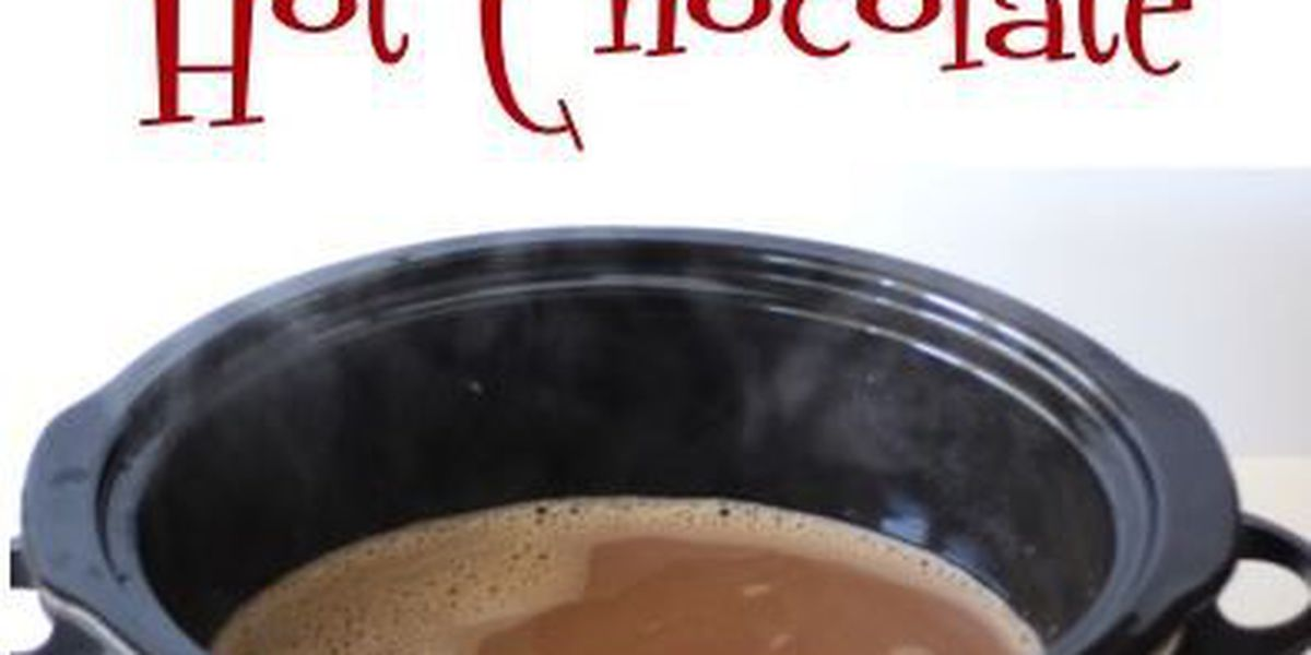 DAILY RECIPE: Crockpot hot chocolate