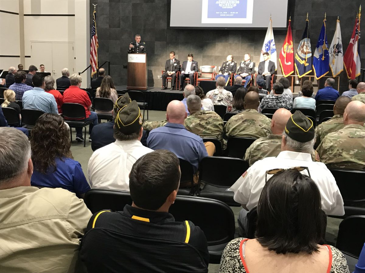 Armed Forces Museum hosts Memorial Day Ceremony