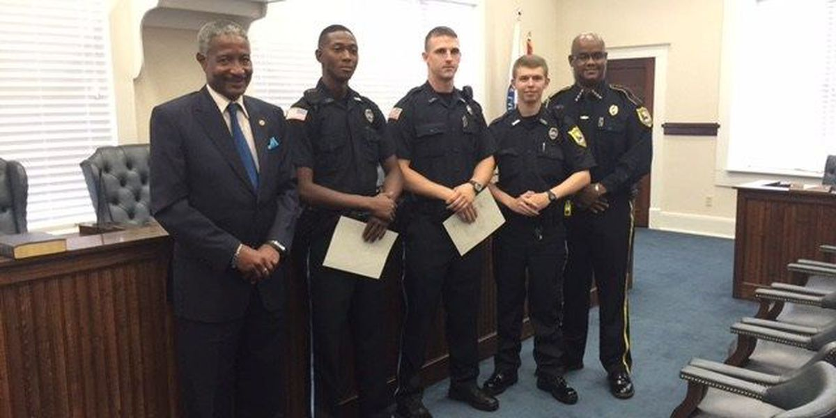 LPD welcomes three new officers