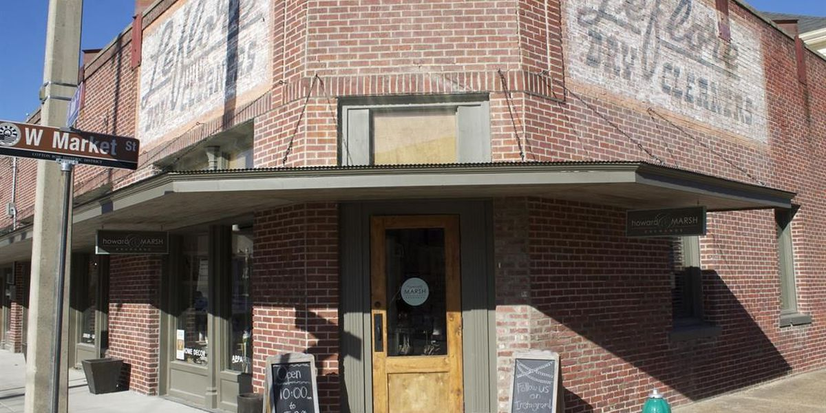 Historic building in downtown Greenwood transformed into contemporary retail space