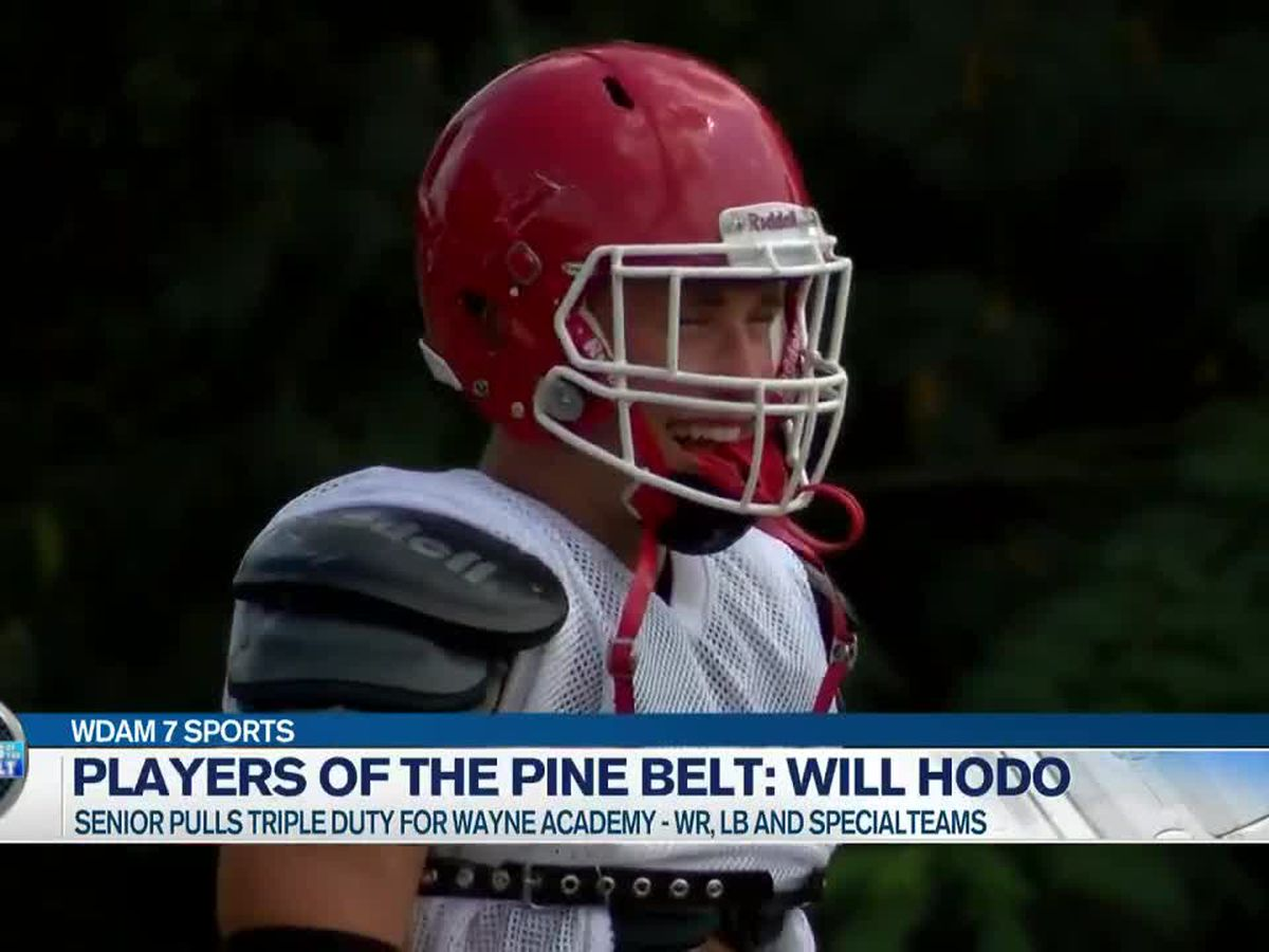 Players of the Pine Belt: Wayne Academy's Will Hodo ready for Friday night's lights