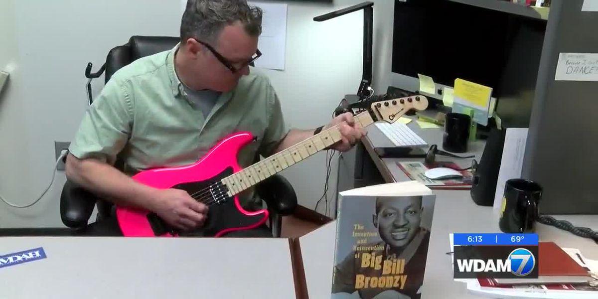 USM professor writes book about MS Blues singer