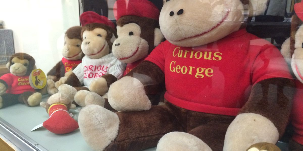 USM Walking event celebrating 75th birthday of Curious George begins