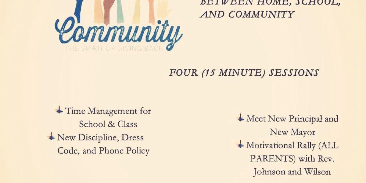 HHS, Hattiesburg Mayor hosting community event