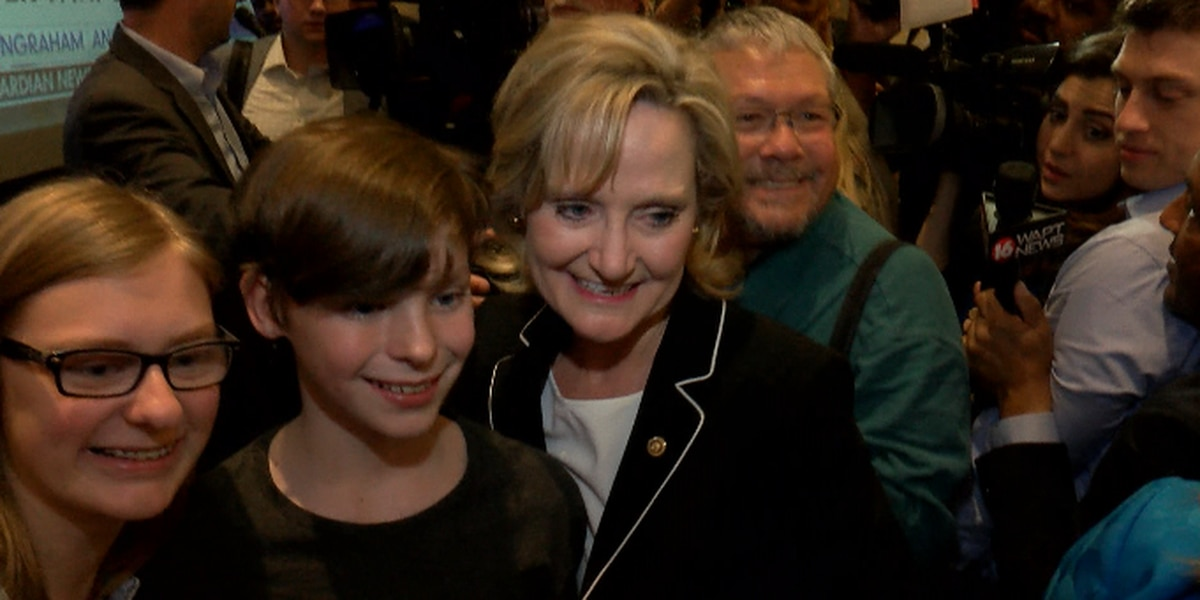 State leaders congratulate Sen. Cindy Hyde-Smith on her win