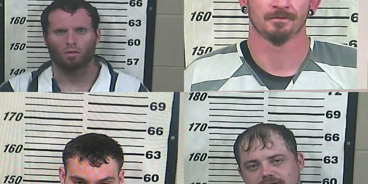 Perry Co. make four felony arrests in past week
