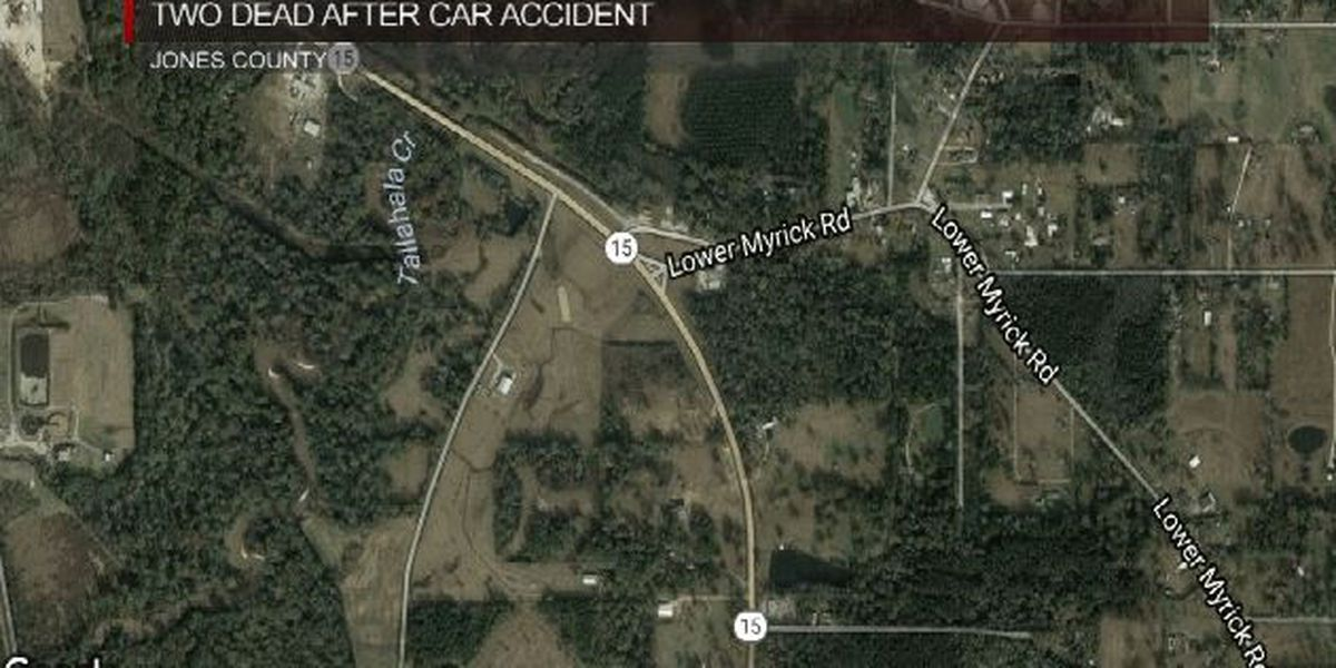 Two people killed in two-vehicle accident in Jones County