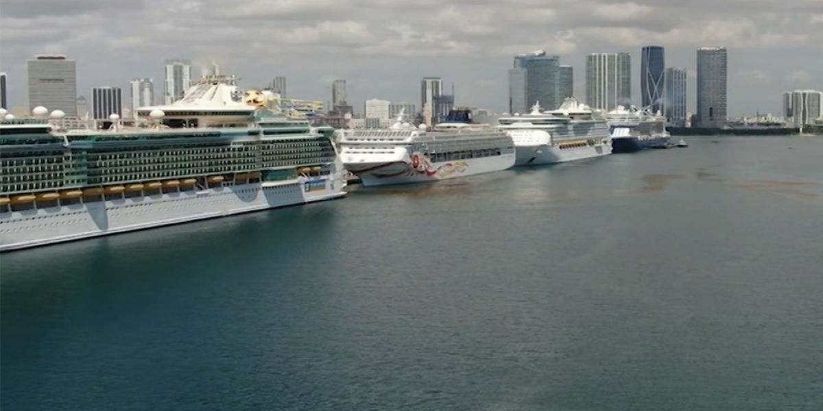 Major cruise lines cancel departures through October