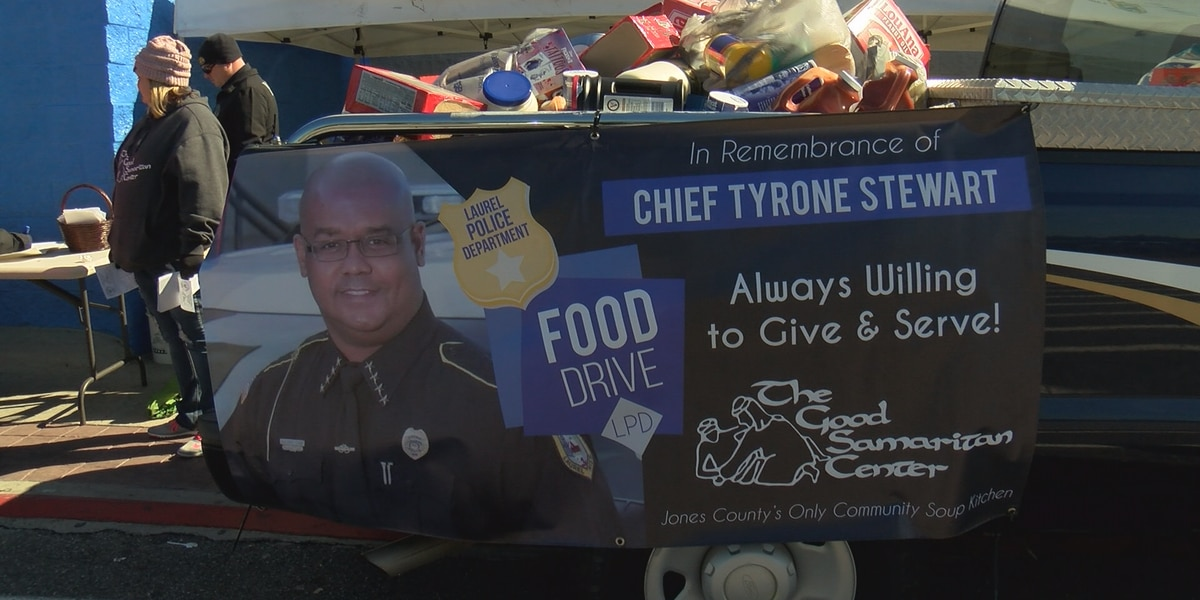 Five truckloads of food collected at Laurel Fill-A-Truck