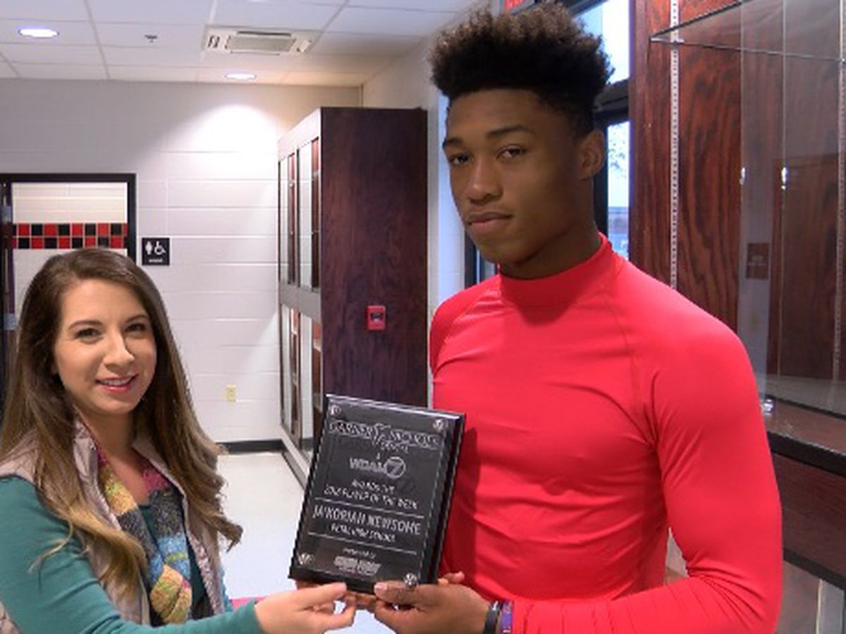 Player of the Week - Petal junior Ja'Korian Newsome