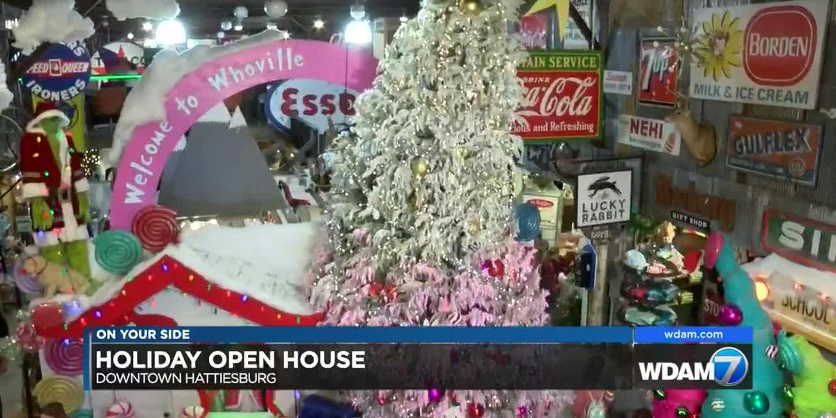 Downtown Hattiesburg businesses hosts Holiday Open House