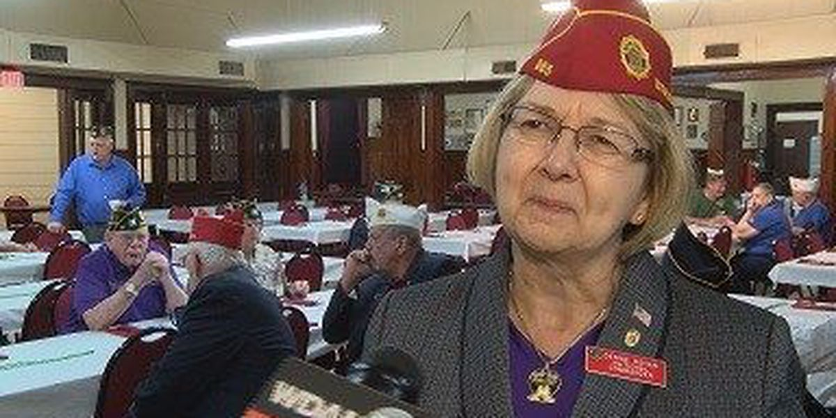 First female American Legion national commander visits Hattiesburg