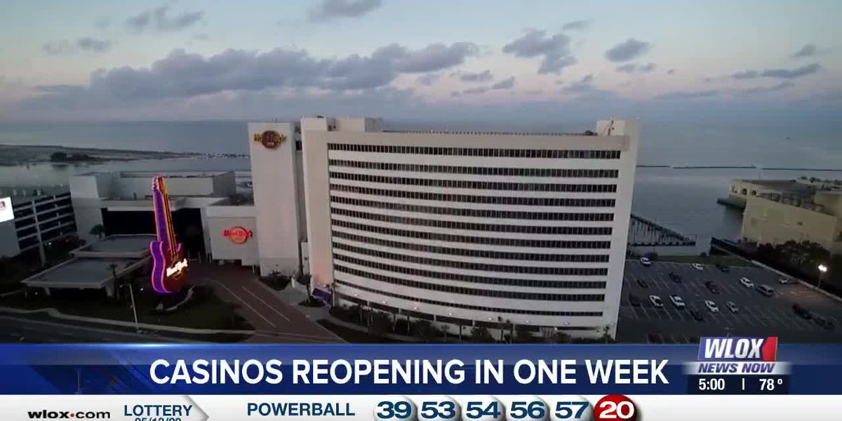 Mississippi casinos allowed to reopen May 21st