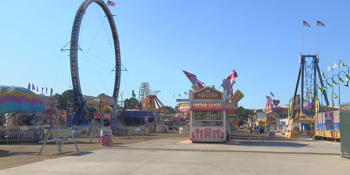 Balloons popping mistaken for gunfire at Mississippi State Fair, causing panic