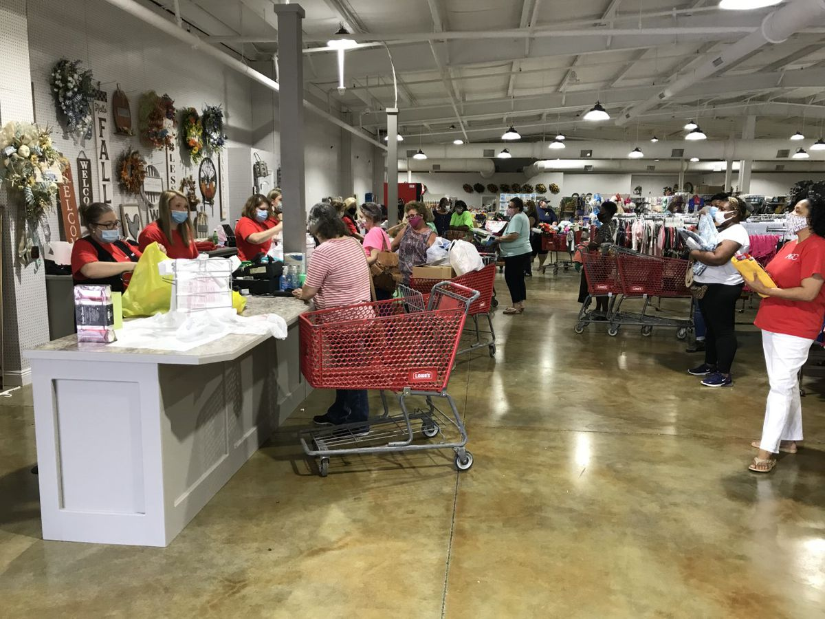 Collins store destroyed by arson reopens