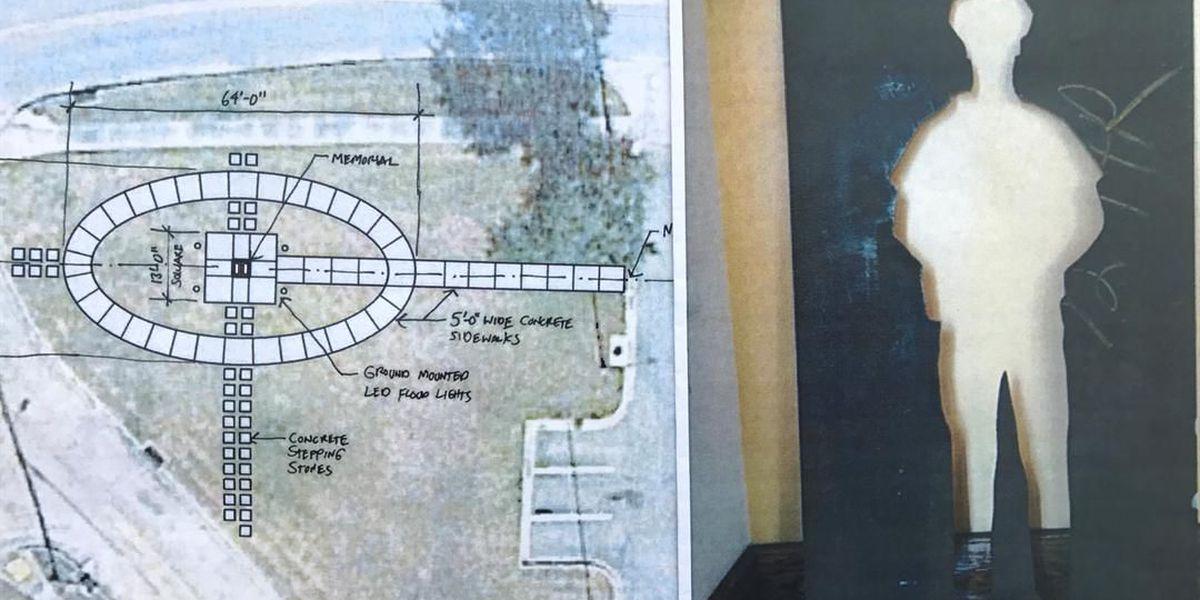 Memorial site to honor fallen officers Deen & Tate