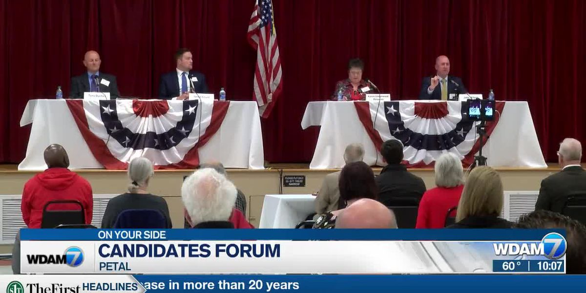 Petal mayoral candidates make pitch to voters at forum
