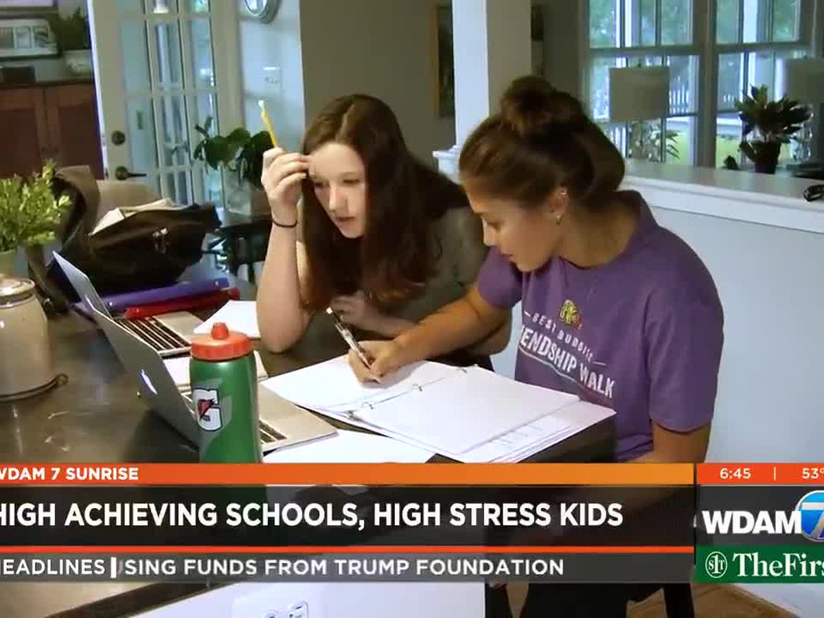 High Achieving Schools, High Stress Students