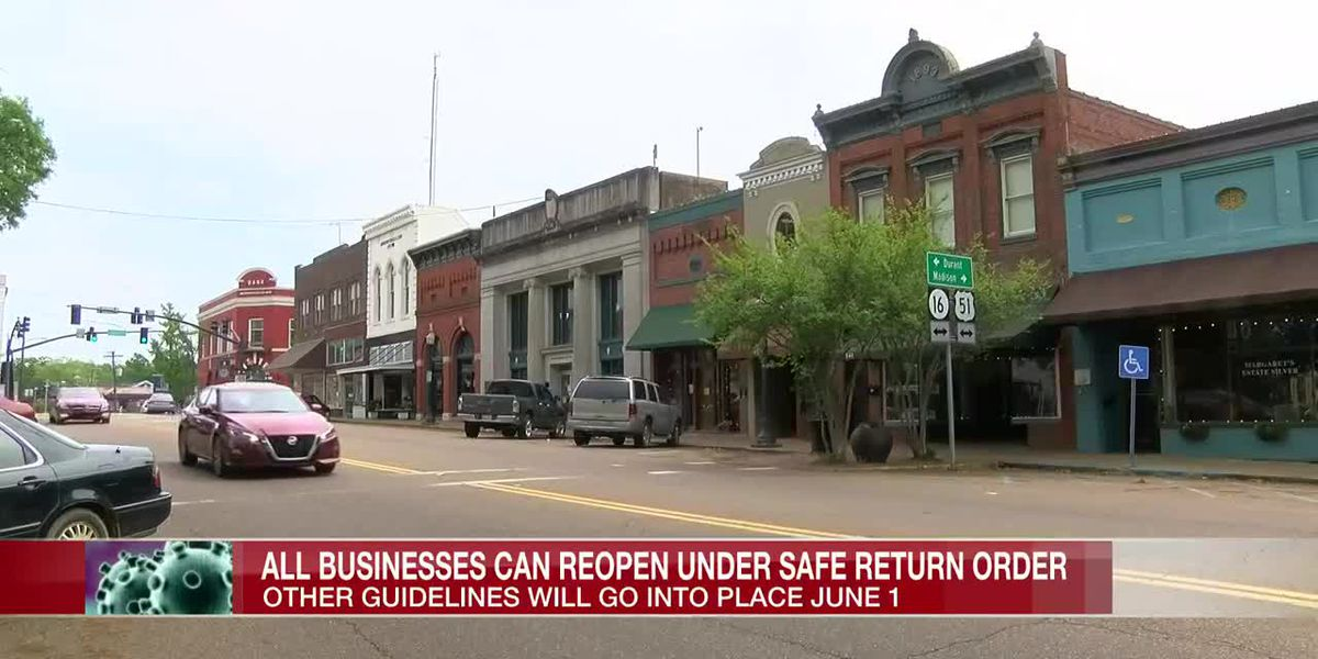 Governor Reeves announces plans for Safe Return order to take effect June 1