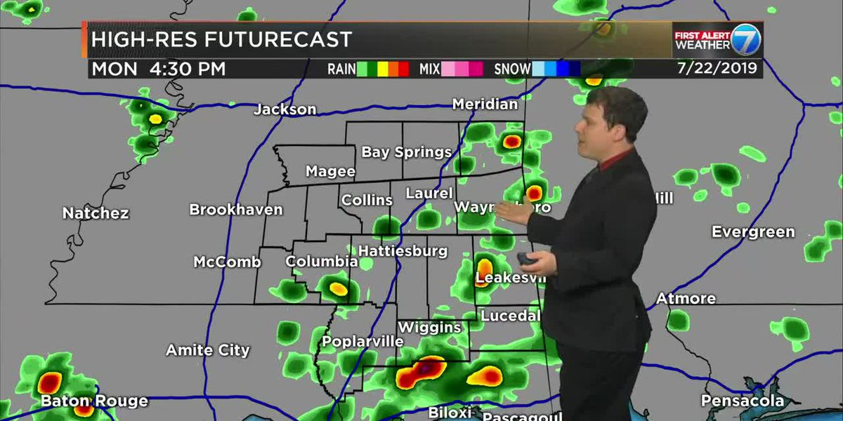 First Alert: Grab your rain gear, more scattered t-storms possible today