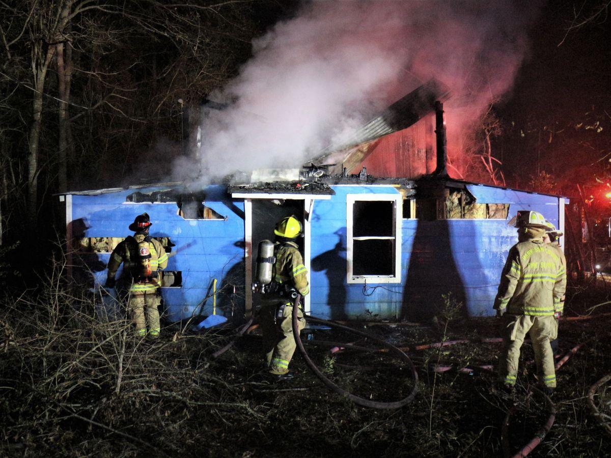 Overnight house fire marks sixth arson case on the Coast since Christmas