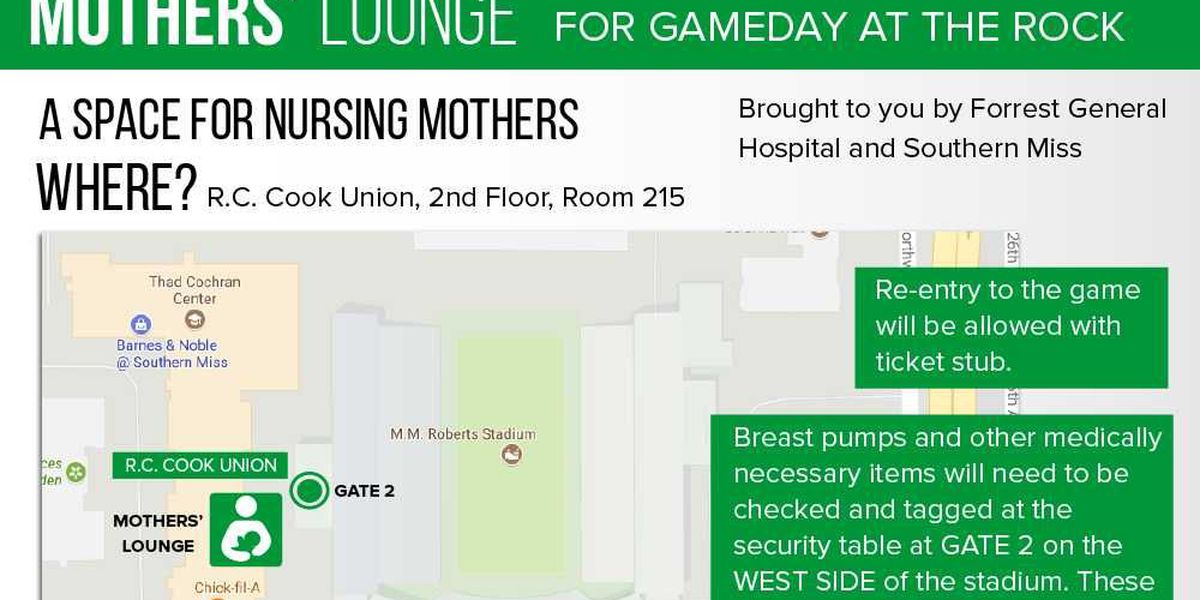 USM to open Mother's Lounge for gamedays