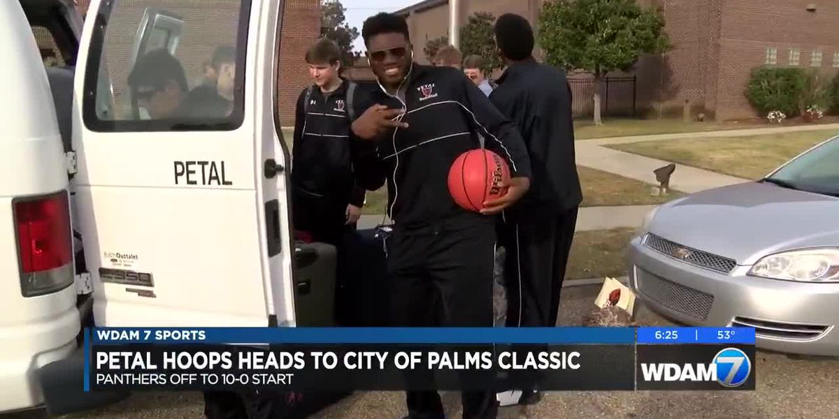 Petal basketball heads to City of Palms Classic