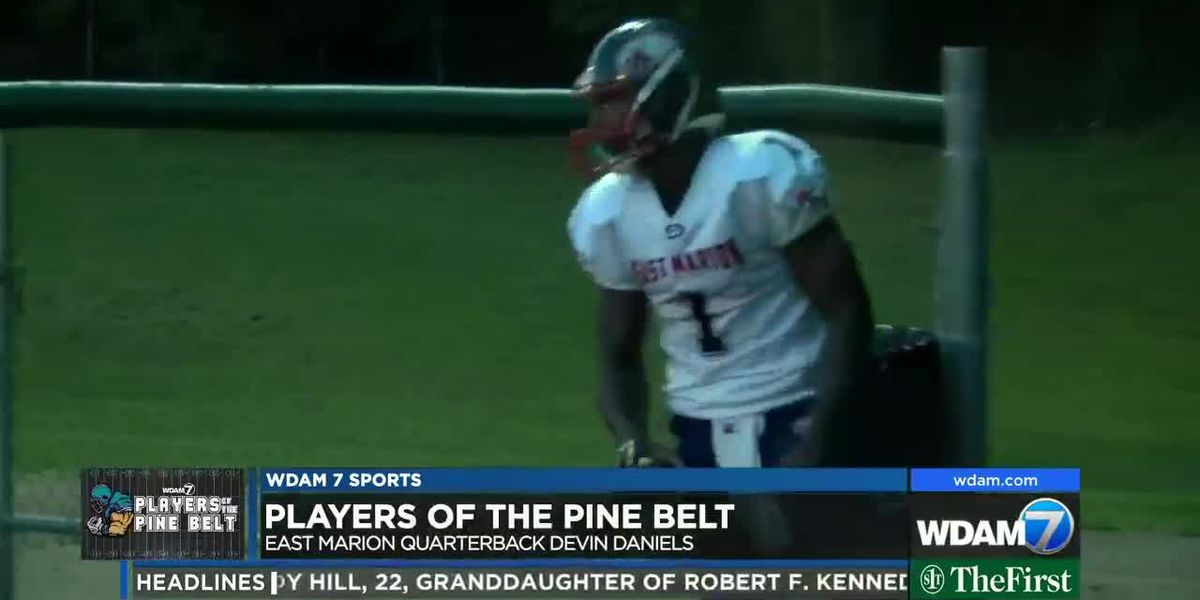 Player of the Pine Belt: Daniels excited about final go-round at East Marion
