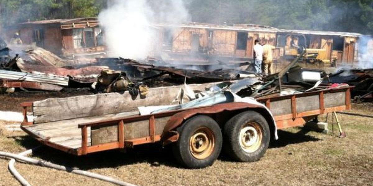 HFD prevents trailer fire from spreading to nearby woods