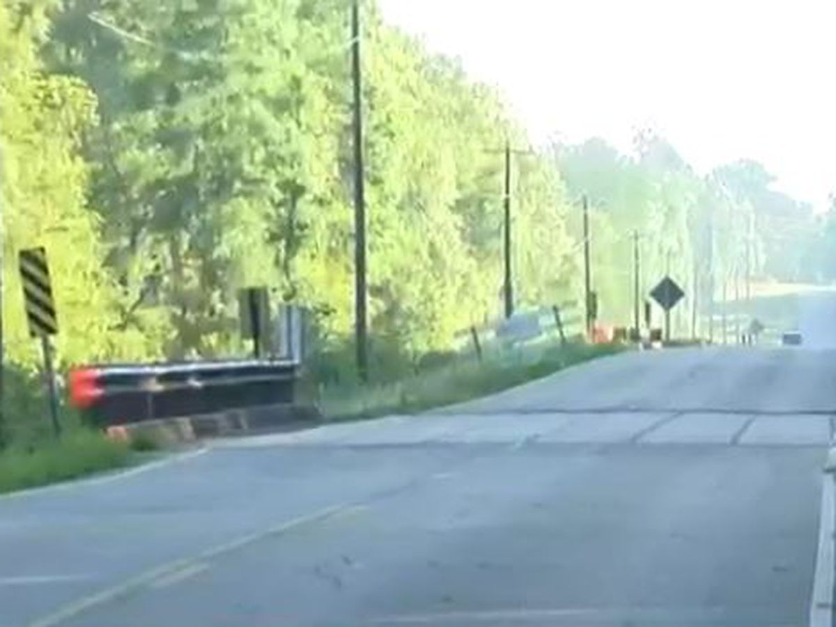 Jones County bridge on Lower Myrick Road reopens