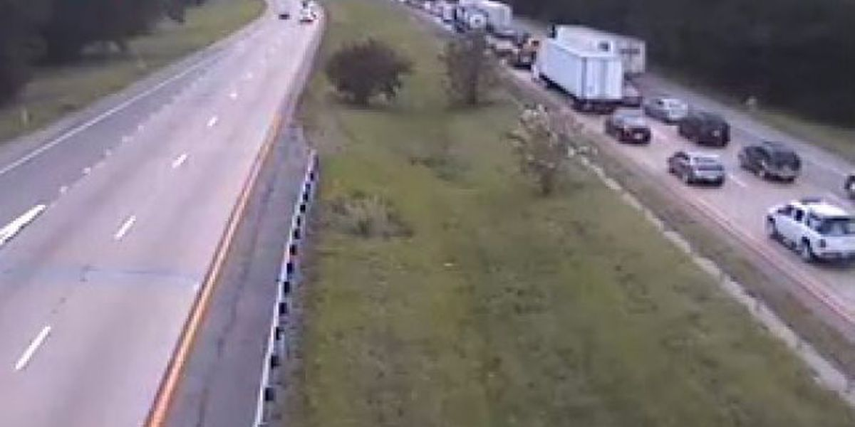 ALERT: Traffic moving slowly after I-59 lane blocked