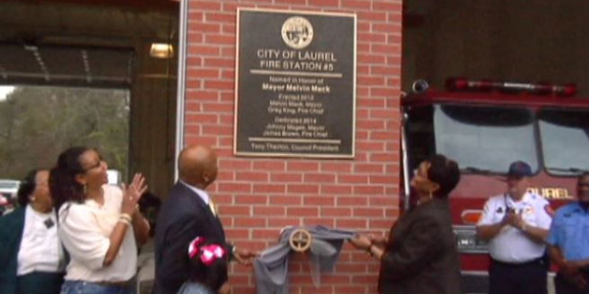 Fire Station dedicated to former mayor