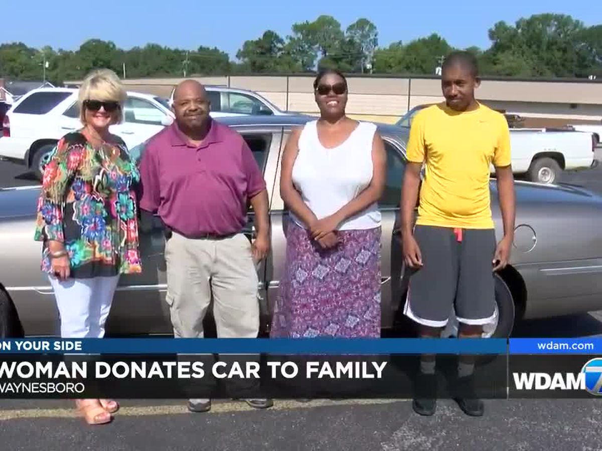 Community bands together to buy car for Waynesboro family