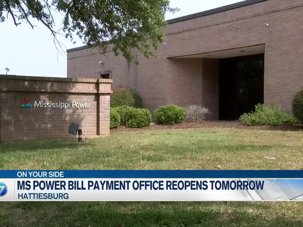 Mississippi Power reopening bill payment offices Oct. 5