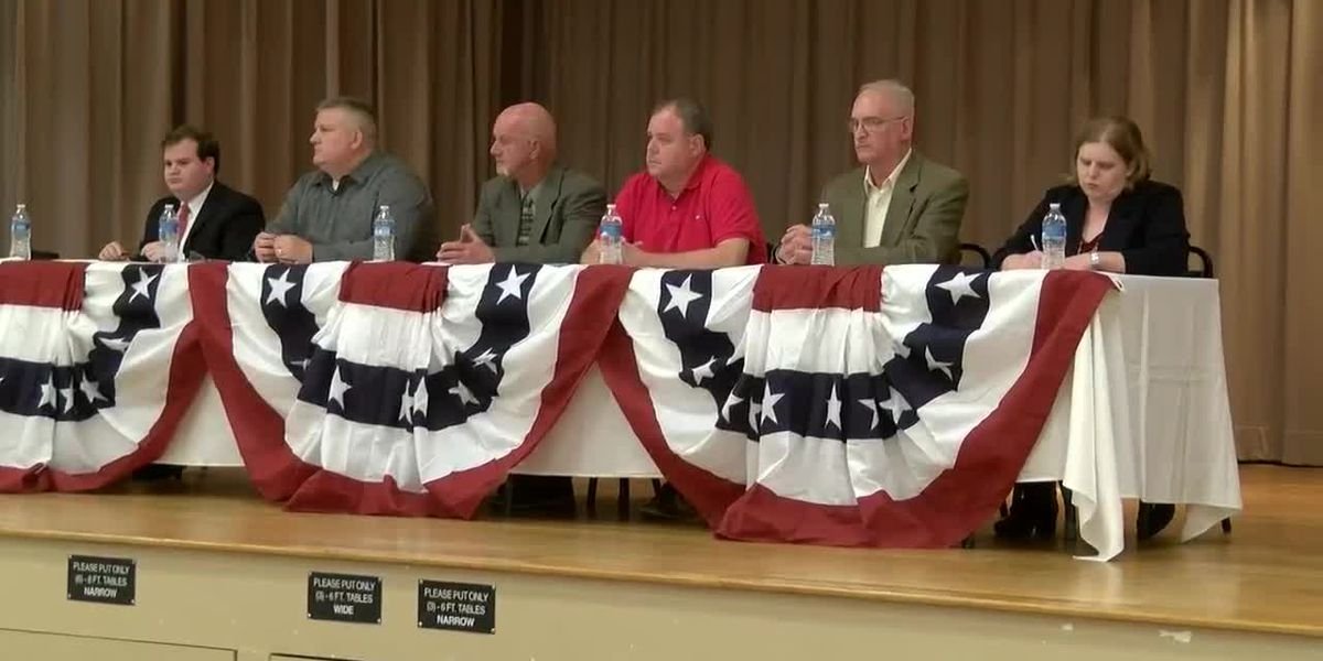 Petal Chamber hosts candidate forum for alderman-at-large election